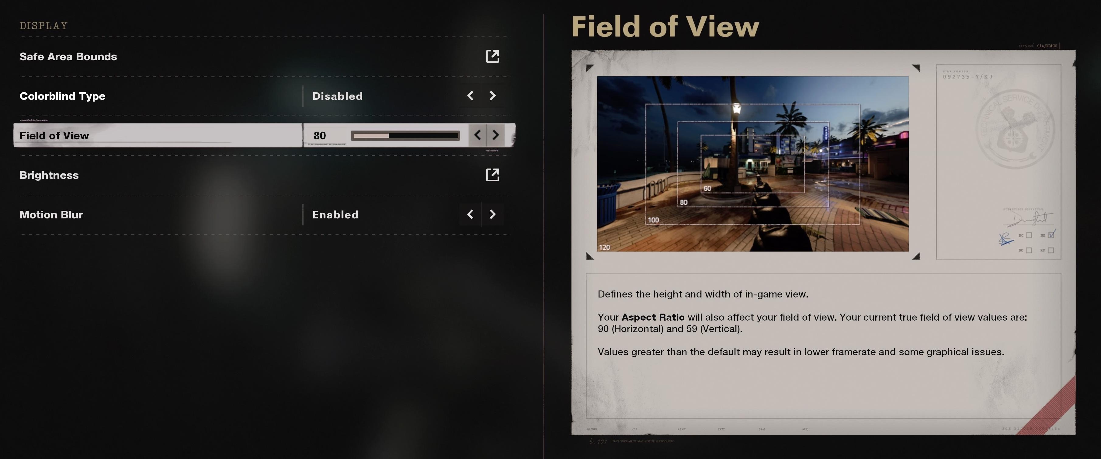 black ops cold war fov slider open beta